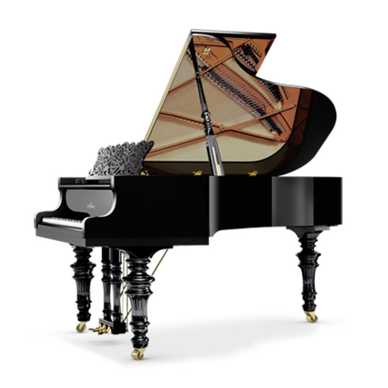 Schimmel Meisterstucke Belle Epoque Grand Piano - Ebony High Gloss