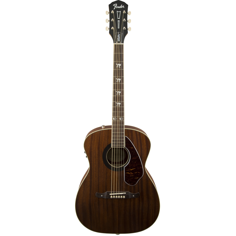 Fender Tim Armstrong Hellcat Mahogany Acoustic Electric Guitar