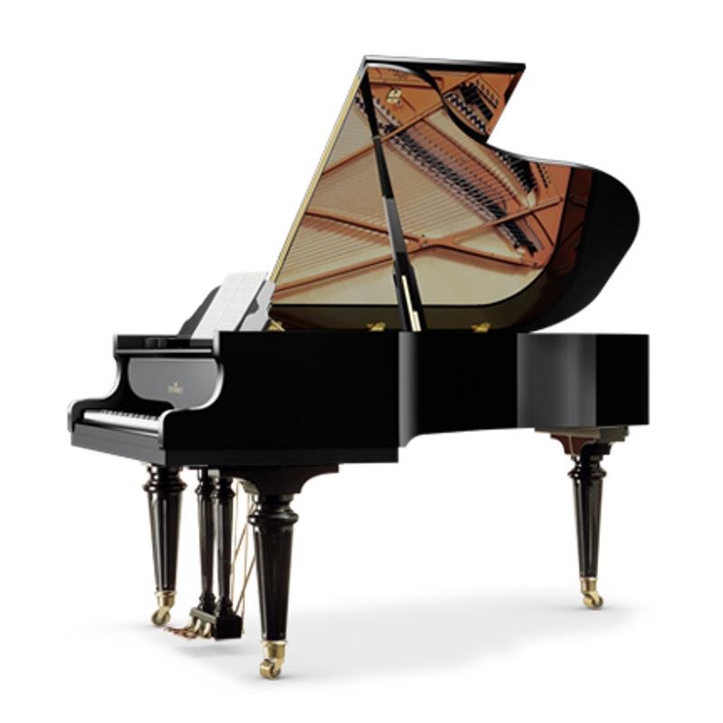 Schimmel Meisterstucke Royal Grand Piano - Ebony High Gloss