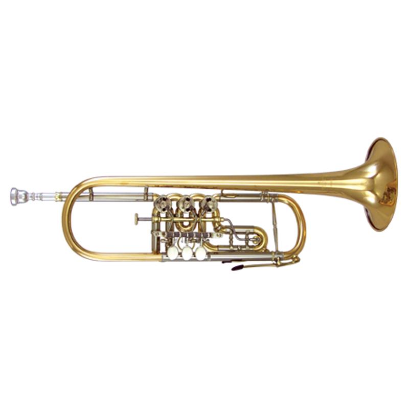 Kanstul Model 1505 Bb Rotary Trumpet