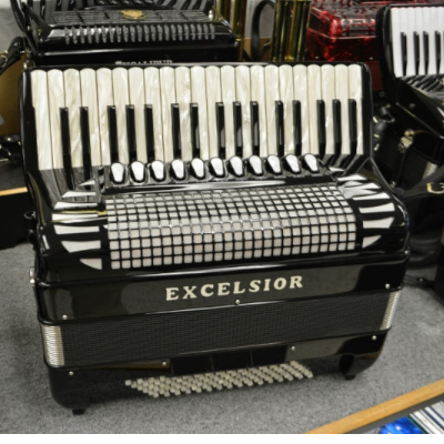 Excelsior Professional 1304BCS 96 Bass Accordion