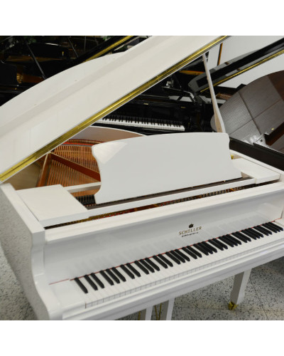 Performance Grand Piano 5 Leipzig White Polish