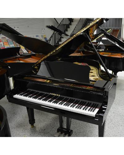 Yamaha C3 Grand Piano - Ebony Polish (used)