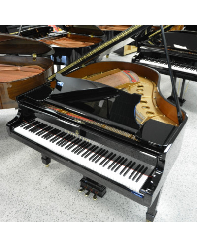 Steinway Model M Grand Piano - Ebony Polish