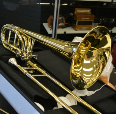 Schiller Studio Double Trigger Trombone Demo Model