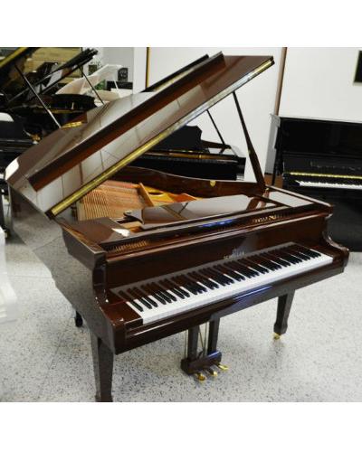 Schiller Performance Leipzig Baby Grand Piano - Walnut Polish