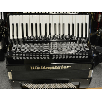 Weltmeister Saphire Piano Accordion 120 Bass ( New 2016 Model )