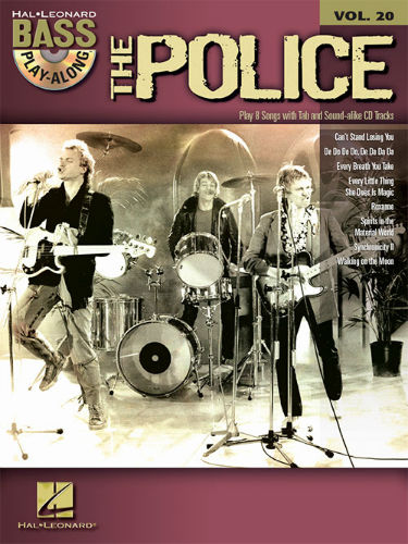 The Police - Bass Play-Along Volume 20 Book and CD