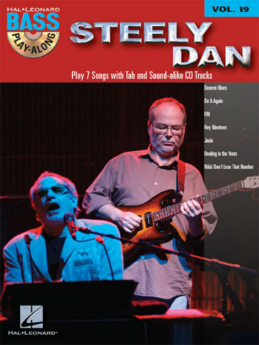 Steely Dan - Bass Play-Along Volume 19 Book and CD