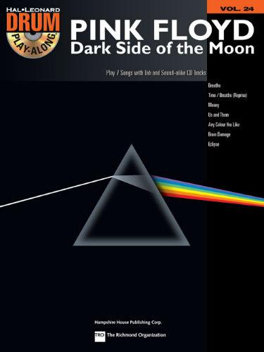Pink Floyd – Dark Side of the Moon - Drum Play-Along Series Volume 24