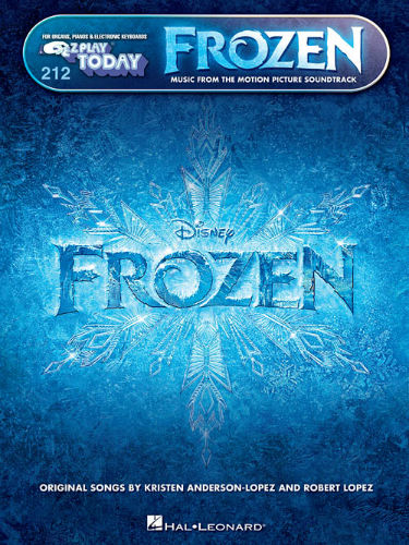 Frozen - E-Z Play?? Today Series Volume 212