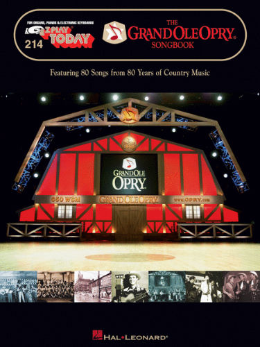 The Grand Ole Opry Songbook - E-Z Play?? Today Series Volume 214