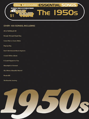 Essential Songs – The 1950s - E-Z Play® Today Series Volume 51