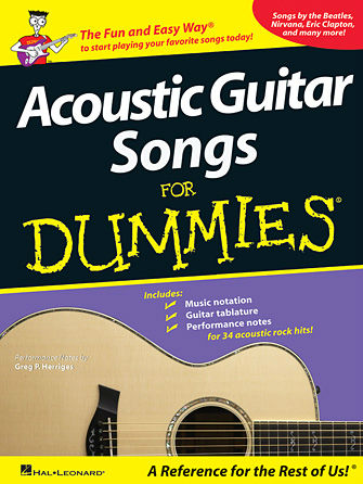 Acoustic Guitar Songs for Dummies® - Dummies Collections Series