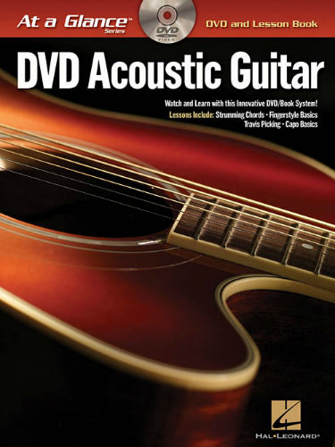 Acoustic Guitar Book and DVD