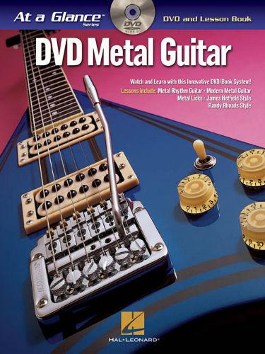 Metal Guitar Book and DVD