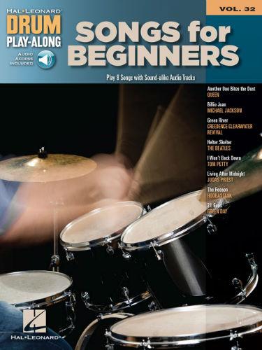 Songs for Beginners - Drum Play-Along Series Volume 32