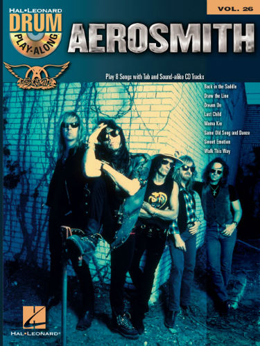 Aerosmith - Drum Play-Along Series Volume 26