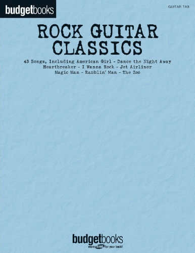 Rock Guitar Classics - Budget Books Series