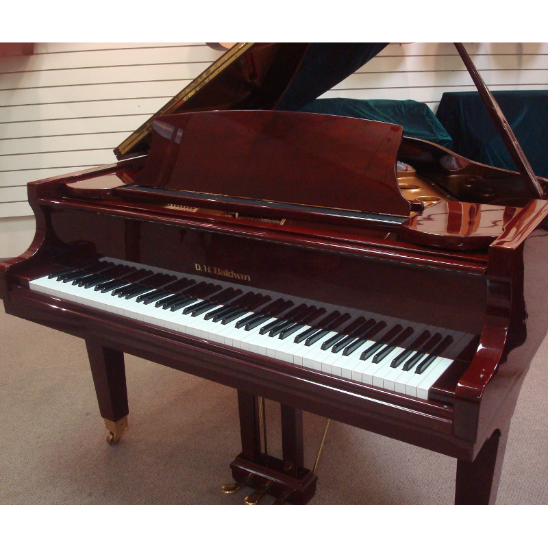 D. H. Baldwin Model C152 Grand Piano - Mahogany Polish
