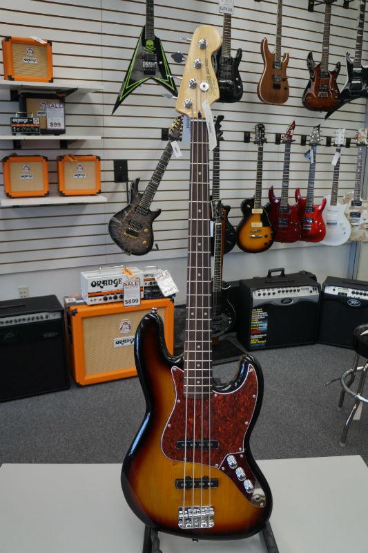 Fender® Squier® Vintage Modified Jazz Bass® Electric Bass - 3 Color Sunburst