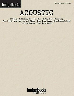 Acoustic - Budget Books Series