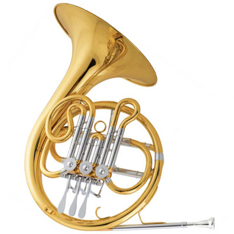 Schiller American Heritage Jr French Horn - Gold Lacquer