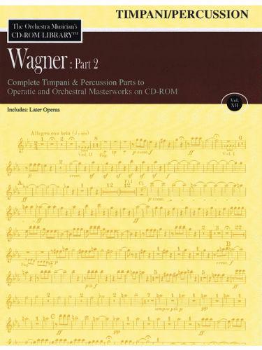 Wagner: Part 2 – Volume 12 - CD Sheet Music Series - CD-ROM