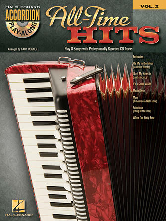 All-Time Hits Accordion Book and CD