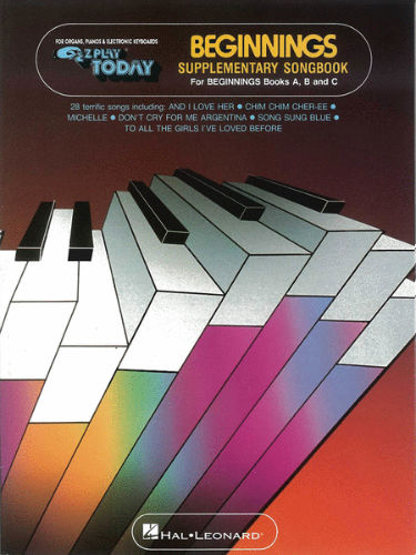 Beginnings Supplementary Songbook A B C - E-Z Play® Today Series
