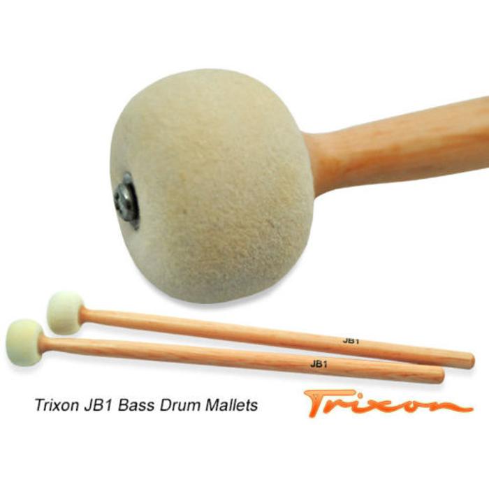 Trixon JB1 Bass Drum Mallets - Small
