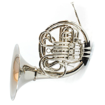 Schiller Elite V French Horn - Nickel Plated