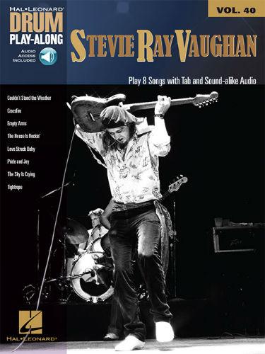 Stevie Ray Vaughan - Drum Play-Along Series Volume 40