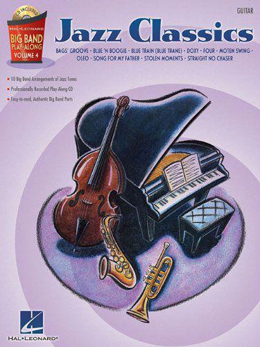 Jazz Classics – Guitar - Big Band Play-Along Volume 4