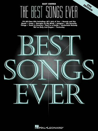 The Best Songs Ever – 5th EditionEasy Guitar - Best Ever Series