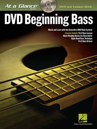 Beginning Bass Book and DVD