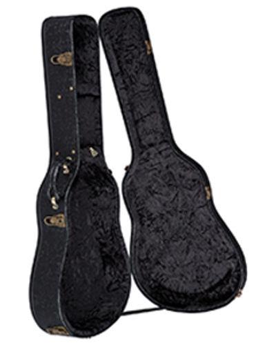 Luna Guitar HCase Tooled Leather Look Folk & Parlor