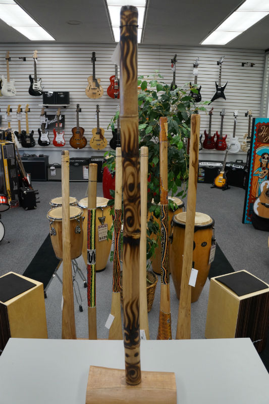 Didgeridoo Bamboo Burned