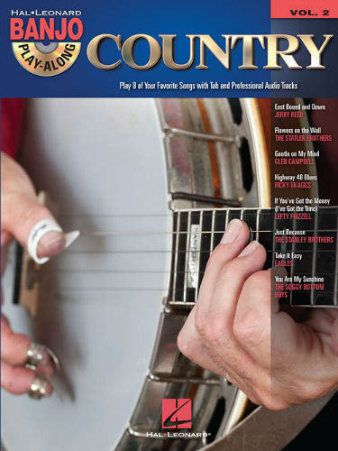 Country - Banjo Play-Along Volume 2 Book and CD