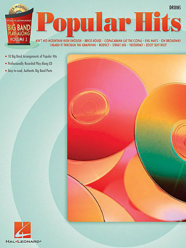 Swing Favorites – Drums - Big Band Play-Along Series Volume 2