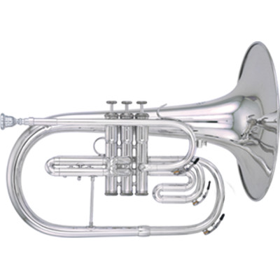 Kanstul Model 281 F Marching Mellophone