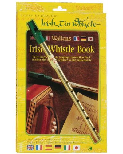 Waltons Irish Tin Whistle ( Key of D ) Twin Pack