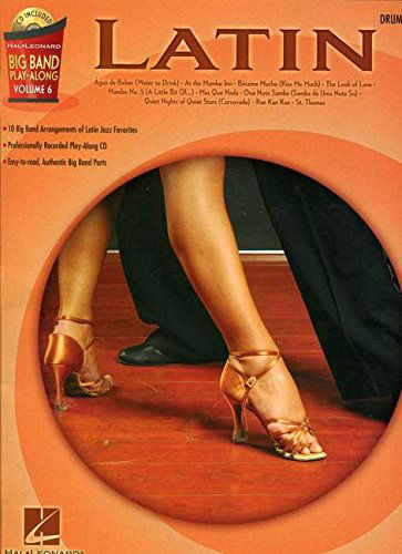 Latin – Drums - Big Band Play-Along Volume 6