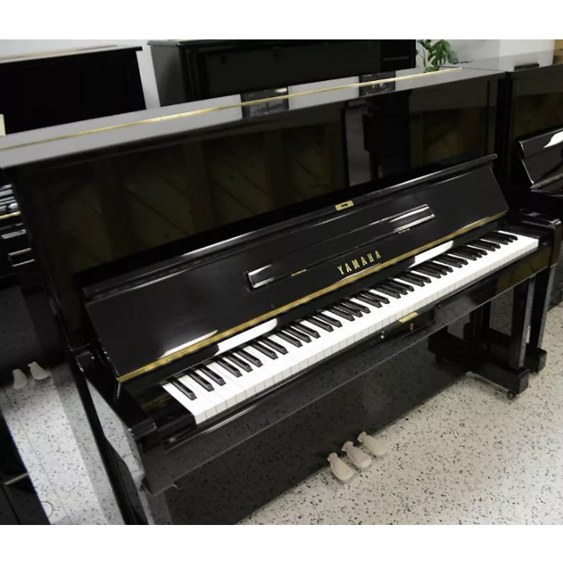 Yamaha U1 Upright Piano - Black Polish