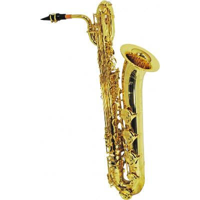 Schiller Elite IV Concert Baritone Saxophone - Gold