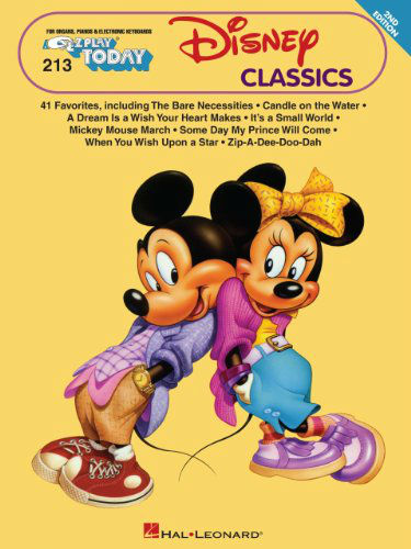 Disney Clasics - E-Z Play?? Today Series Volume 213