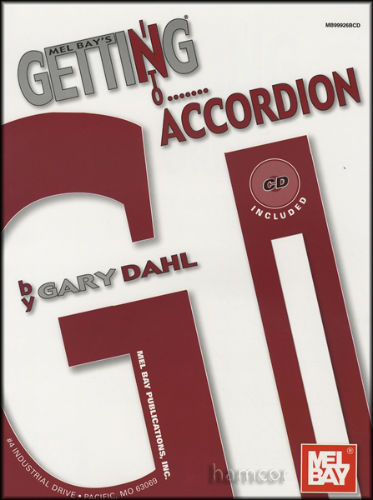 Getting into the Accordion Book and CD
