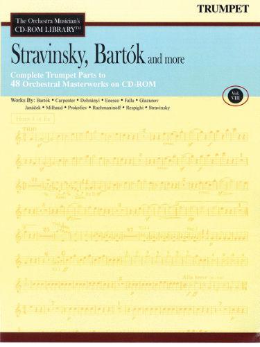 Stravinsky, Bartók and More – Vol. 8 - CD Sheet Music Series – CD-ROM