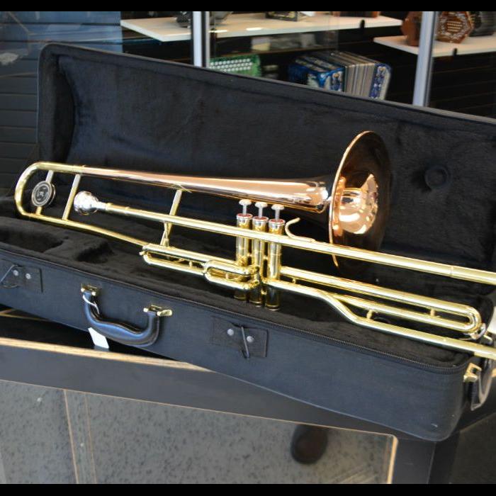 Schiller American Heritage Bb Valve Trombone - Rose Gold
