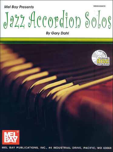 Jazz Accordion Solos Book and CD